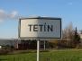 Obec Tetín v roce 2006